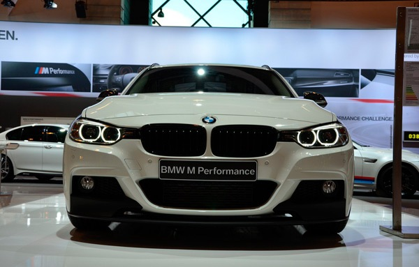 Аксессуары M Performance для заряженного BMW 3-Series