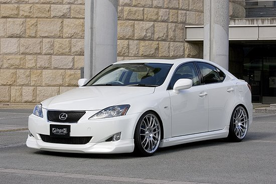 Фото тюнинга Lexus IS250