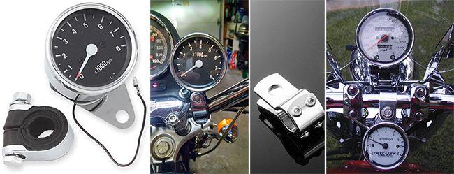 Как самому установить тахометр на мотоцикл