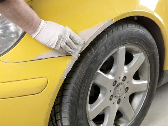 Как удалить царапину на автомобиле в домашних условиях: процесс подготовки и окрашивания