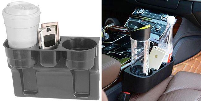 Как выбрать или изготовить подстаканник в автомобиль