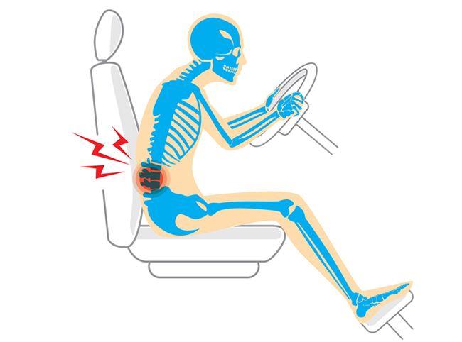 Как выбрать ортопедическую подушку на сиденье водителя