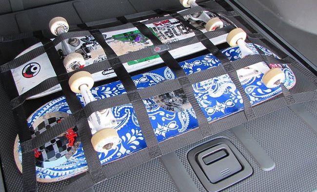 Как выбрать сетку для багажника автомобиля