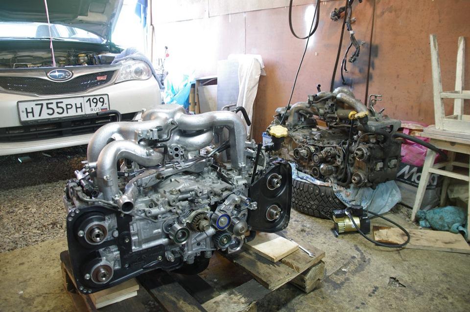 Общее описание мотора