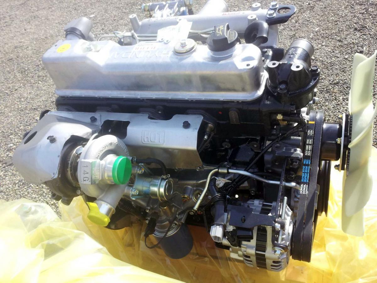Описание и эксплуатационные параметры двигателя D4DB