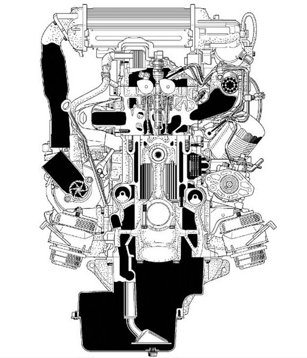Описание особенностей двигателя и этапов его разработки