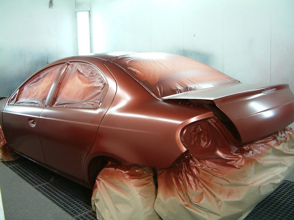 Подготовка кузова автомобиля к покраске