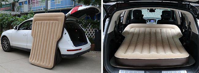 Поговорим о надувных матрасах для автомобиля