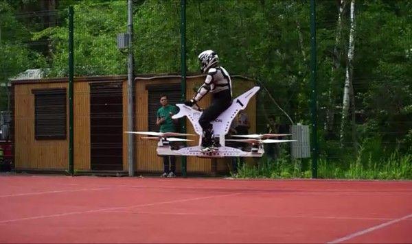 Полиция Дубая полетит: на GITEX-2017 покажут новые летающие байки полисменов