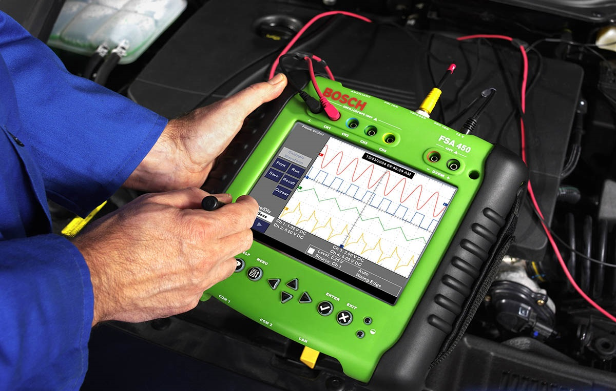 Получаемая ЭБУ информация и сигналы управления исходящие с него