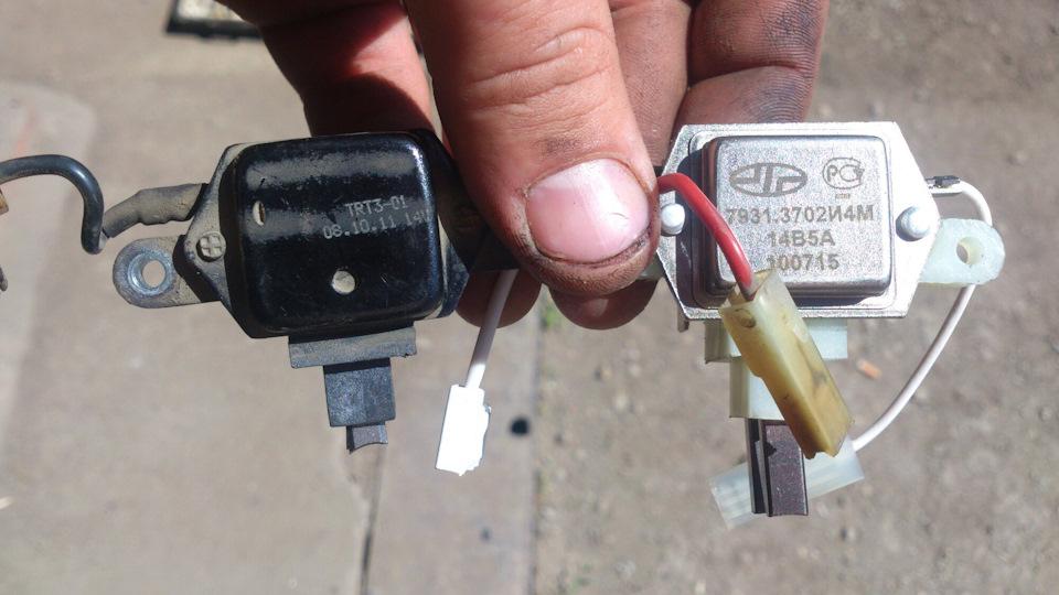 Признаки, говорящие, что пора менять щетки генератора: