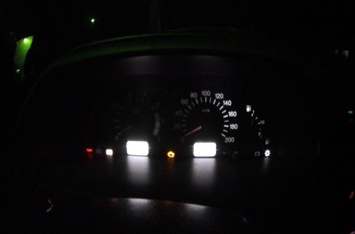 Простая замена лампочек в приборной панели ВАЗ 2114