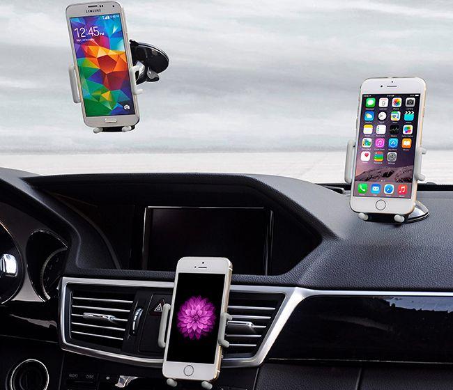 Разновидности держателей для телефона в автомобиль