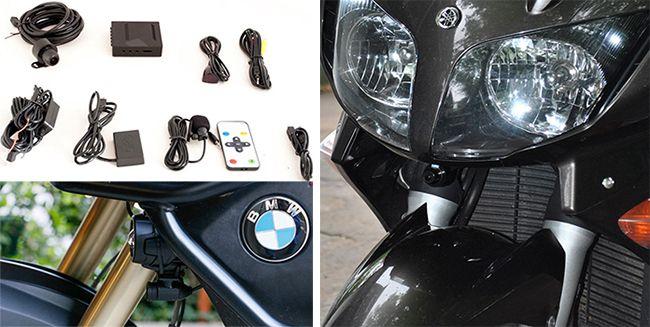 Разновидности гарнитур и видеорегистраторов для мотоциклиста