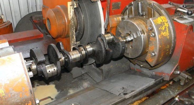 Шлифовка коленчатых валов иномарок и их ремонт: 5 этапов проведения
