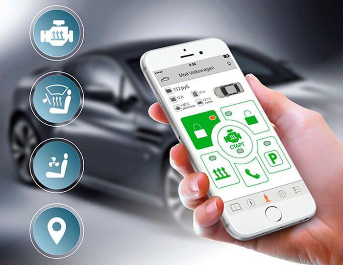 Сигнализация с gsm модулем для управления авто через смартфон