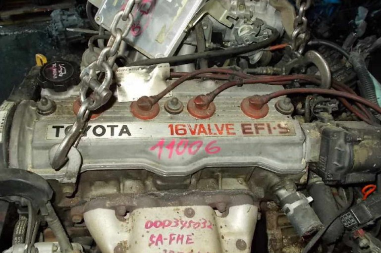 Технические характеристики 5A FE 1,5 л/105 л. с.