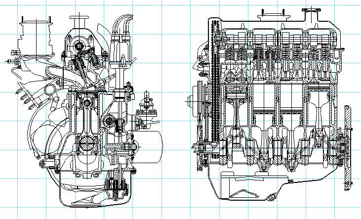Технические характеристики двигателя 2103