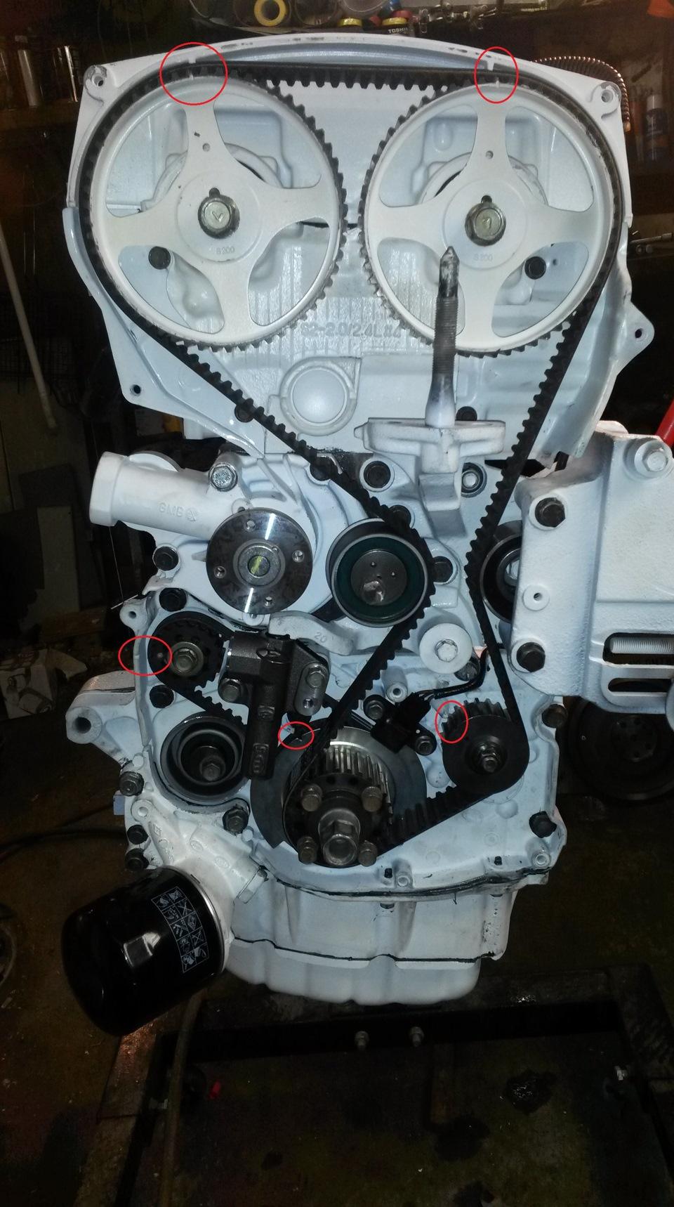 Технические характеристики G4JS 2,4 л/150 – 156 л. с.