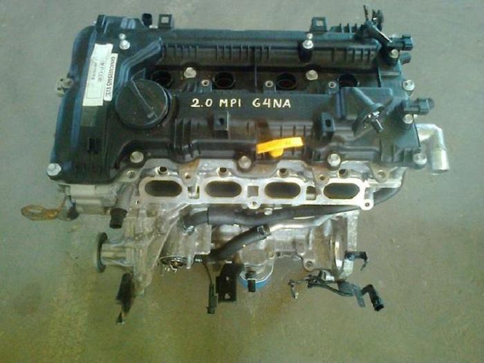 Технические характеристики G4NA 2 л/167 л. с.