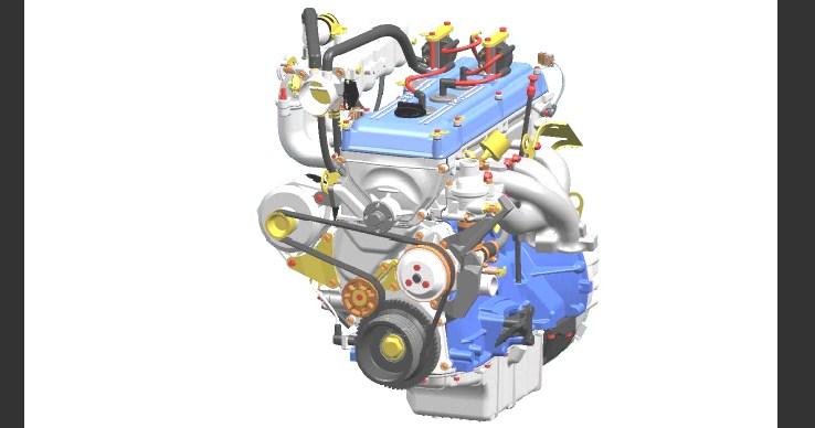Технические характеристики ЗМЗ 409 2,7 л/112 – 143 л. с.