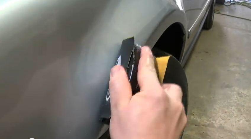 Технология замены колёсной арки своими руками