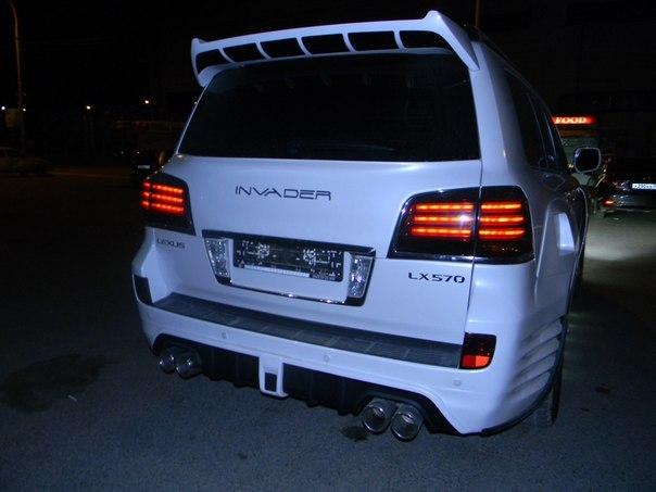 Тюнинг автомобиля Lexus LX570
