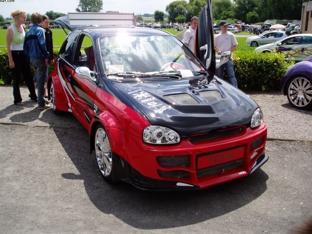 Тюнинг Opel Corsa с фото