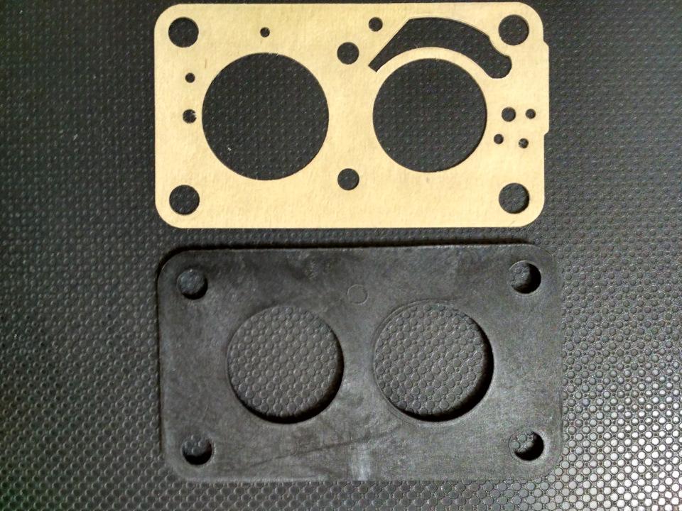 Виды прокладок применяемых в карбюраторе