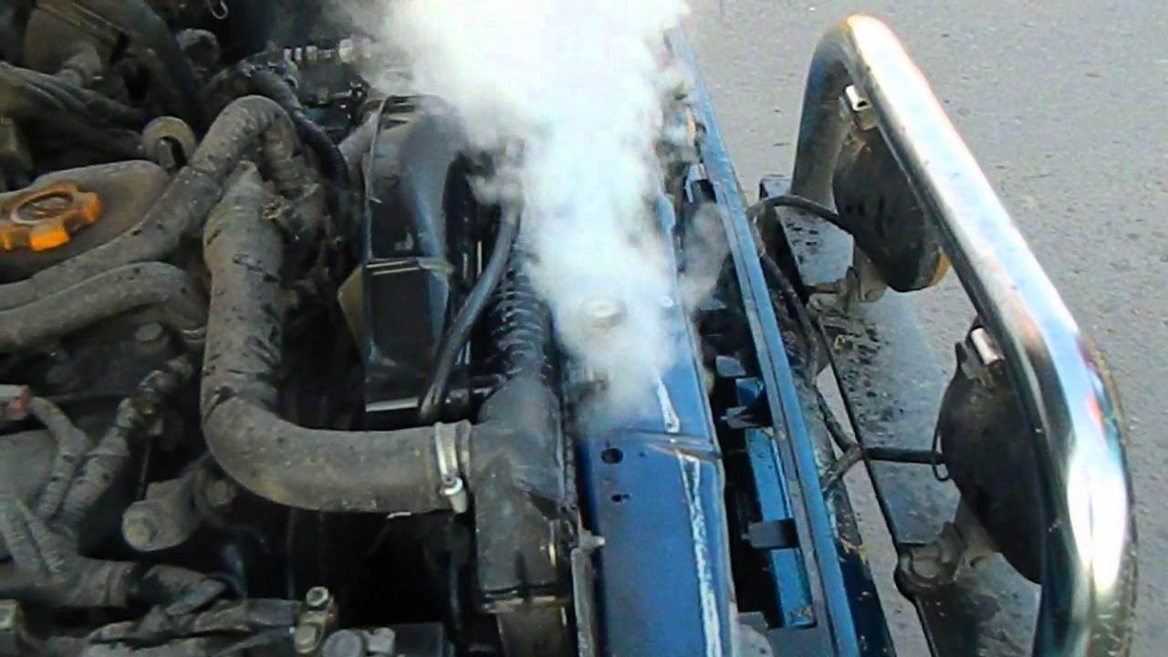 Что делать, если перегрелся двигатель
