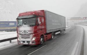 Как подготовить грузовую машину к зиме?