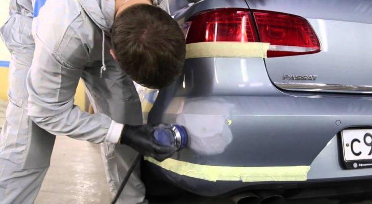 Локальная покраска автомобиля: 8 советов для самостоятельного ремонта