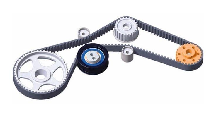 Натяжной ролик ремня генератора: устройство, признаки неисправности и 7 шагов по его замене