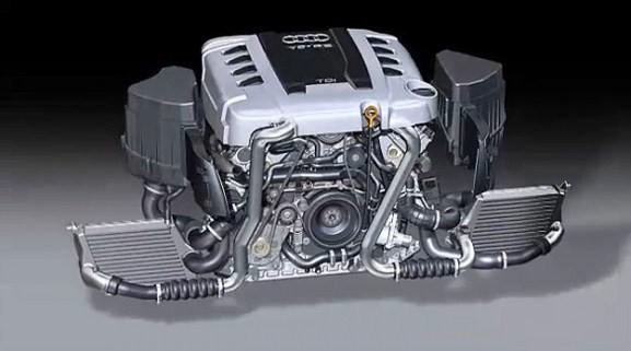 Ремонт двигателя Ауди Q7/Q5
