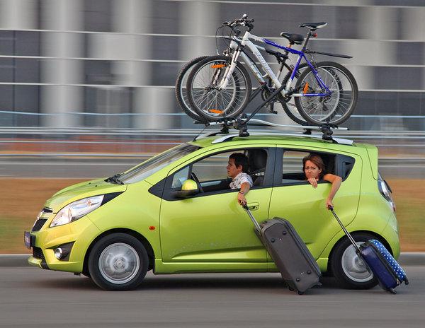 Советы по перевозке велосипеда на авто