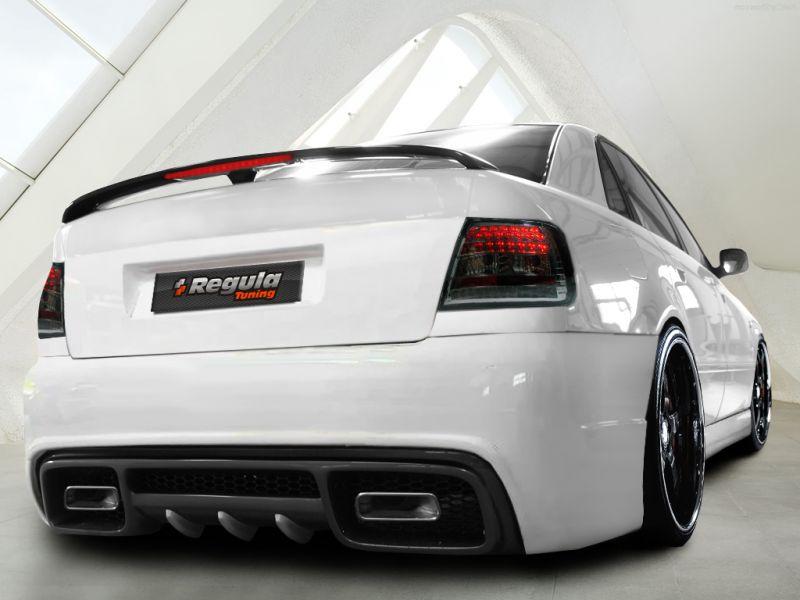 Тюнинг Ауди А4, фото тюнинга салона Audi A4