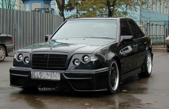 Тюнинг Mercedes W-Class с фото