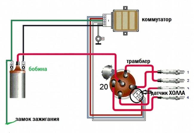Установка бесконтактного зажигания для ВАЗ-2106