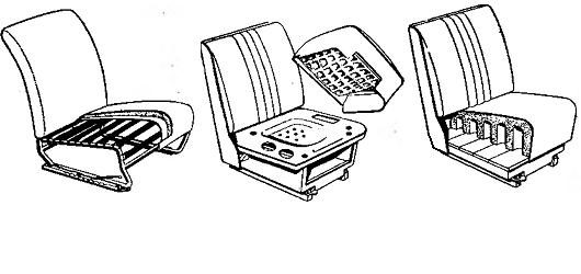 Устройство автомобильных сидений