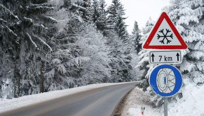 За отсутствие зимней резины – в России штрафовать не будут