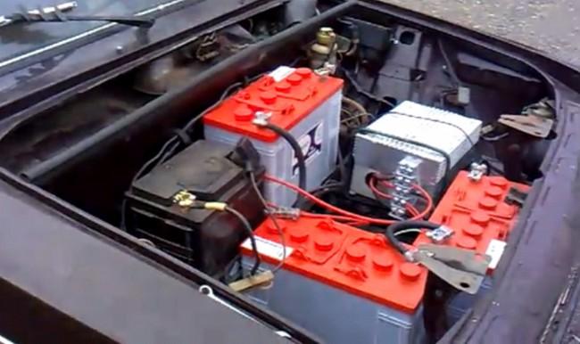 Электромобиль на базе ВАЗ-2106