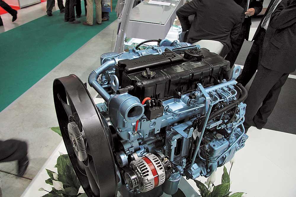 Новые дизельные грузовики ГАЗ