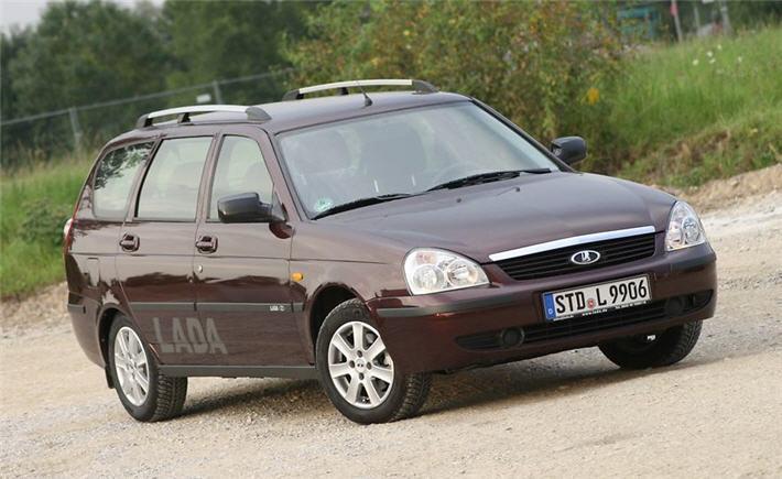 Отзывы немцев о Lada Priora поколения I