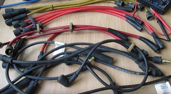 Проверяем высоковольтные провода в авто самостоятельно